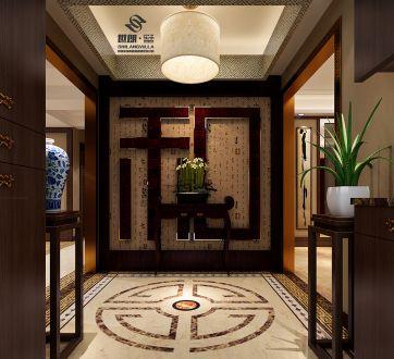 世茂香槟湖180平三室二厅全包装修效果图