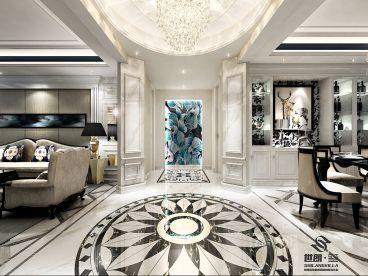 紫金城新古典四室二厅装修效果图