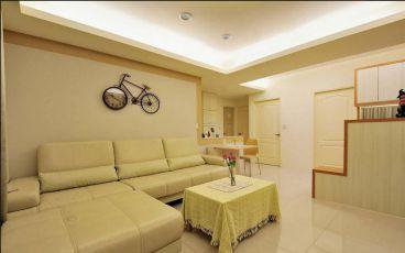 庸豪府96平二室二厅装修效果图