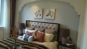 中南世纪锦城120平三室一厅装修效果图