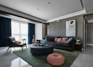 世茂香槟湖半包二室二厅装修效果图