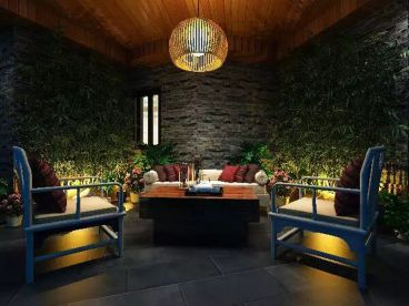 盐田万科东海岸现代简约三室二厅装修效果图