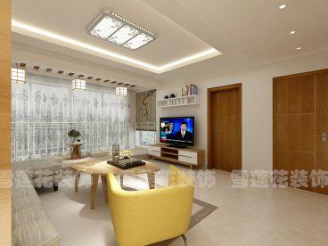 正大公寓123平现代简约装修效果图