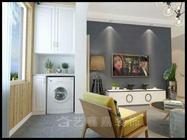 中海国际A5全包二室二厅装修效果图