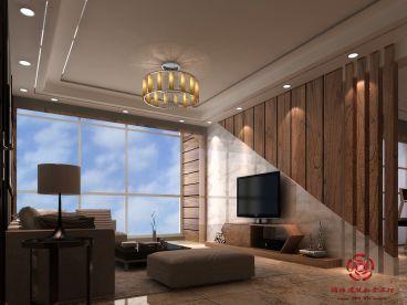 嘉凯城 东方天域140平三室二厅装修效果