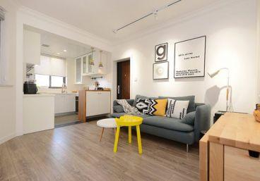 中天未来方舟二室一厅现代简约装修效果图