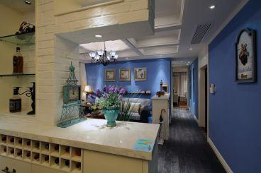 湘江世纪城三室二厅136平装修效果图