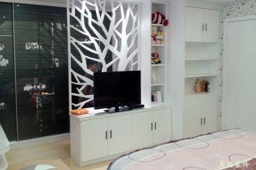 阳光逸城现代简约一室一厅装修效果图