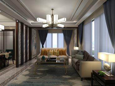 K2玉兰湾全包三室二厅装修效果图