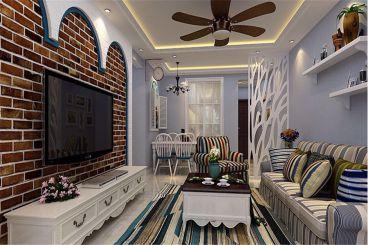 升龙天汇广场三室二厅140平装修效果图