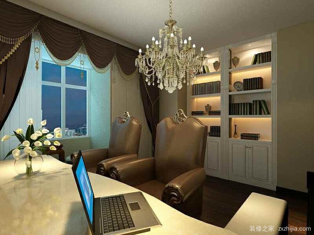 次卧室改书房放钢琴与书桌.