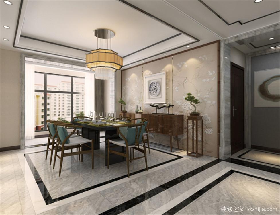 天津大都会半包三室一厅装修效果图