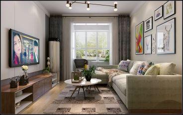 祥泰和院全包三室二厅装修效果图