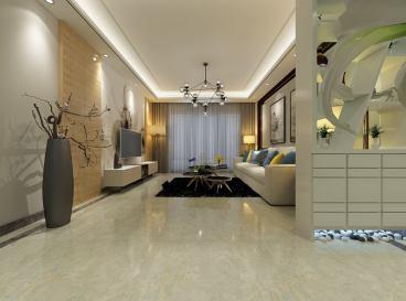 海尔绿城全运村三室二厅现代简约装修效果图
