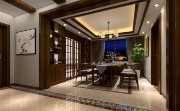 虹田苑120平二室二厅装修效果图