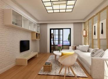幸福村日式三室二厅装修效果图