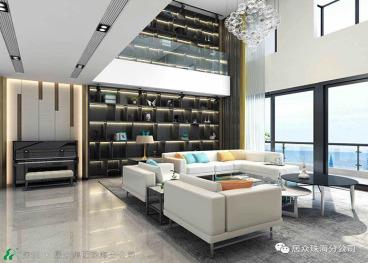 中海银海湾五室三厅半包装修效果图