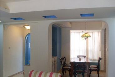 华润二十四城三室二厅100平装修效果图