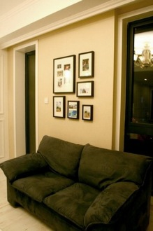 紫御江山70平三室一厅装修效果图
