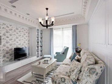 南滨雅苑80平三室二厅装修效果图