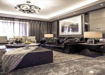 保利罗兰香谷全包二室一厅装修效果图