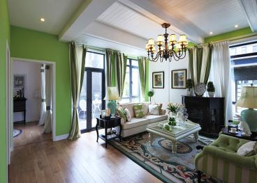 兰亭国际名园146平三室二厅装修效果图