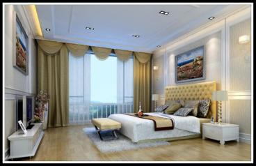 金河谷别墅280平三室二厅装修效果图