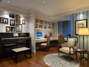 嘉年华国际社区四室二厅180平装修效果图