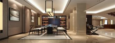 龙庭雅苑420平六室二厅装修效果图