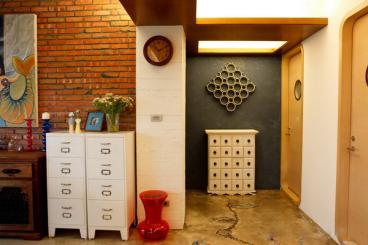 宝安山水龙城110平三室二厅装修效果图