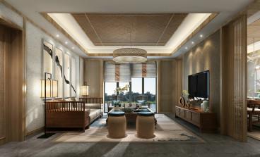 中粮云景国际四室二厅125平装修效果图