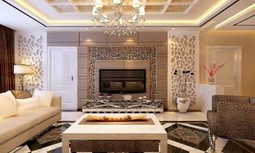 东岸嘉园现代简约三室一厅装修效果图
