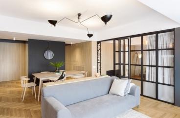 富丰新城120平二室二厅装修效果图