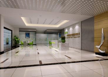 科莱瑞迪办公空间设计现代简约装修效果图