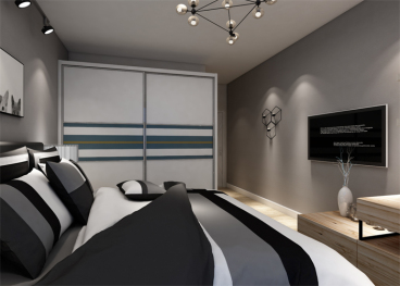 中天城·天阔二室二厅现代简约装修效果图