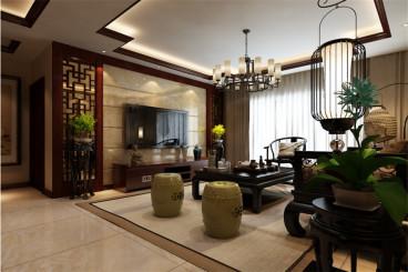 长江一号三室二厅全包装修效果图