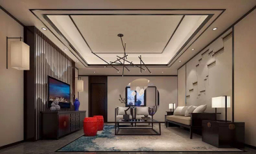 华侨城纯水岸三期三室二厅150平装修效果