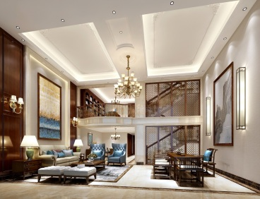 狮山御园美式六室二厅装修效果图