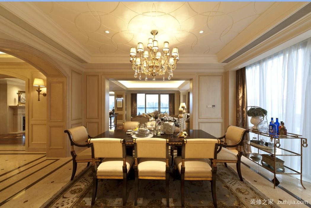 九龙十一度小区半包三室二厅装修效果图
