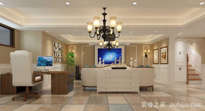 悦活公寓四室三厅150平现代简约装修效果
