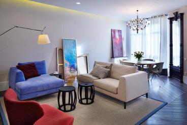 中海国际79平二室一厅装修效果图