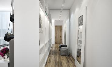 清江公寓全包一室二厅装修效果图