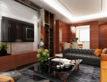 恒盛金陵湾全包二室一厅装修效果图