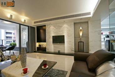 紫御江山三室二厅全包装修效果图