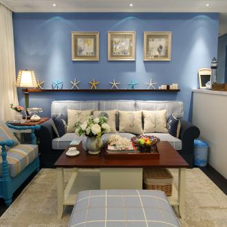 石羊新寓地中海二室一厅装修效果图