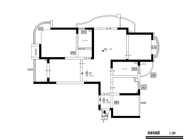 富都豪园125平三室二厅全包装修效果图