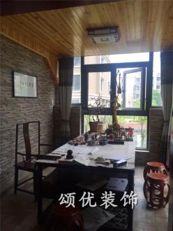 群盛北江豪庭四室二厅中式装修效果图