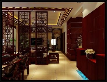 兰亭御湖城127平三室一厅装修效果图