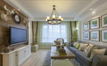 德水香林半包二室二厅装修效果图