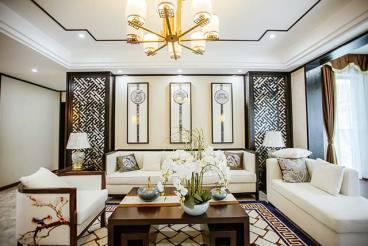新中式 ▪ 山木有枝新中式三室一厅装修效